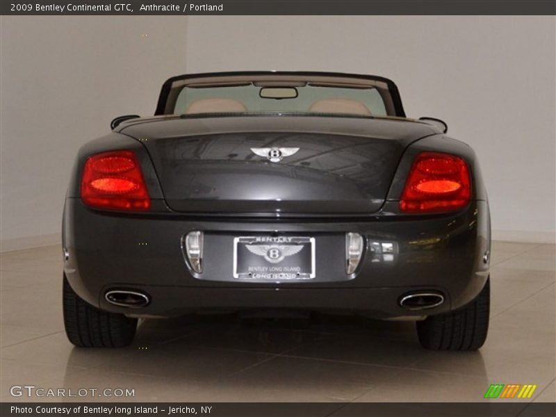 Anthracite / Portland 2009 Bentley Continental GTC