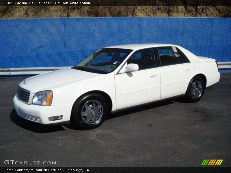 2005 cadillac deville sedan in cotillion white photo no 5463747. Cars Review. Best American Auto & Cars Review