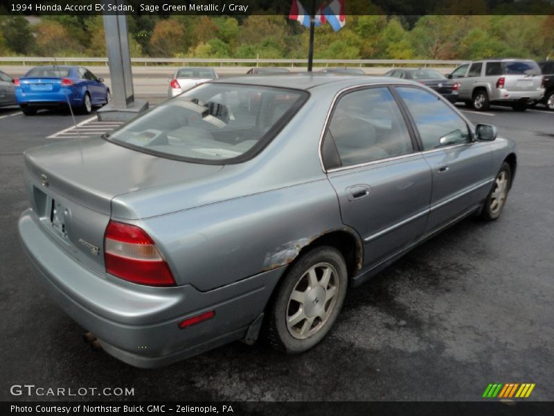 1994 honda accord ex sedan in sage green metallic photo no 54637933. Black Bedroom Furniture Sets. Home Design Ideas