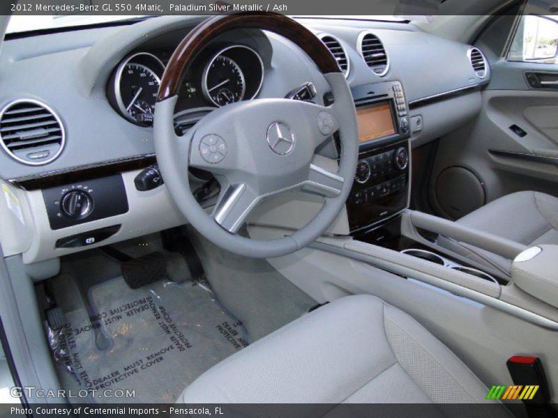2012 GL 550 4Matic Ash Interior