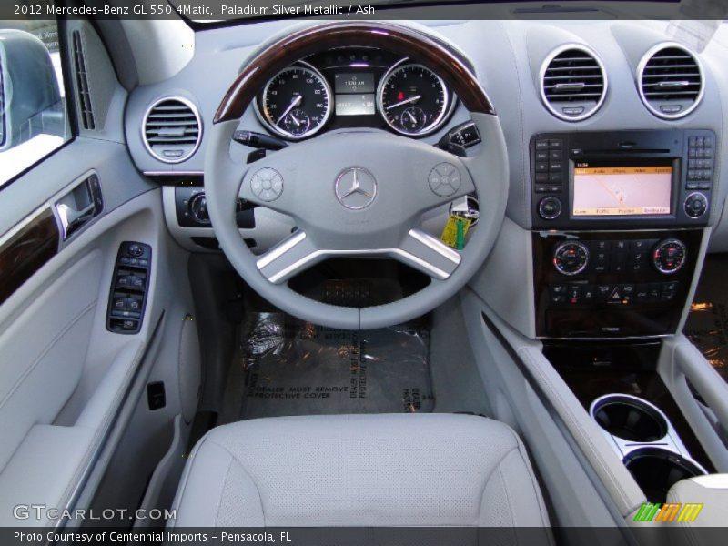Dashboard of 2012 GL 550 4Matic