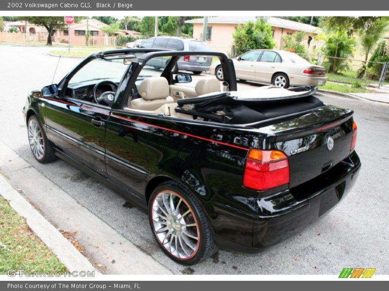 2002 volkswagen cabrio gls in black photo no 54803059. Black Bedroom Furniture Sets. Home Design Ideas