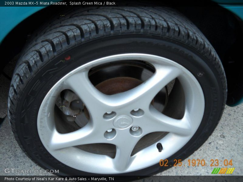2003 MX-5 Miata Roadster Wheel