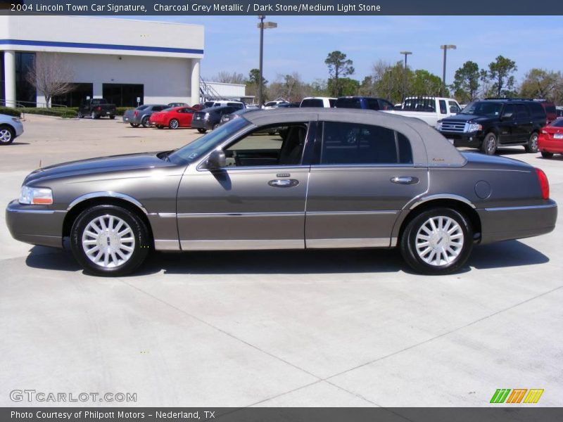 2004 lincoln town car signature in charcoal grey metallic for G stone motors used cars