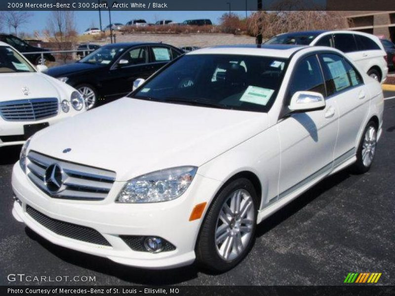 2009 mercedes benz c 300 sport in arctic white photo no for 2009 mercedes benz c 300
