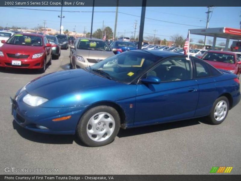 2002 saturn s series sc2 coupe in blue photo no 5544110. Black Bedroom Furniture Sets. Home Design Ideas