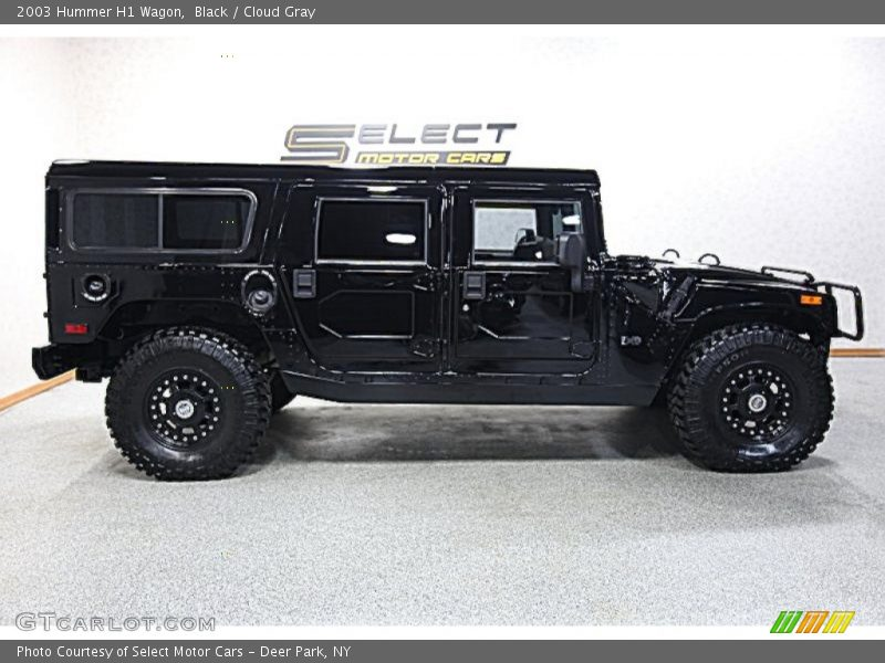 Black / Cloud Gray 2003 Hummer H1 Wagon