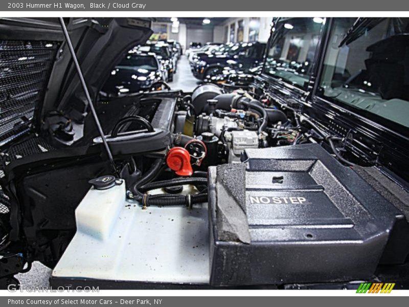 2003 H1 Wagon Engine - 6.5 Liter OHV 16-Valve Turbo-Diesel V8