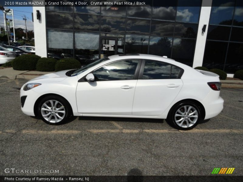 2010 mazda mazda3 s grand touring 4 door in crystal white. Black Bedroom Furniture Sets. Home Design Ideas