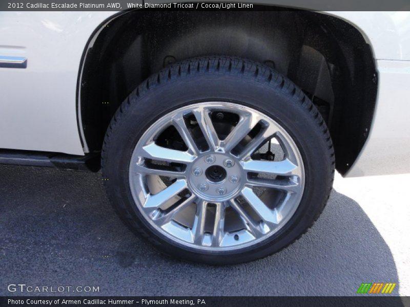 2012 Escalade Platinum AWD Wheel