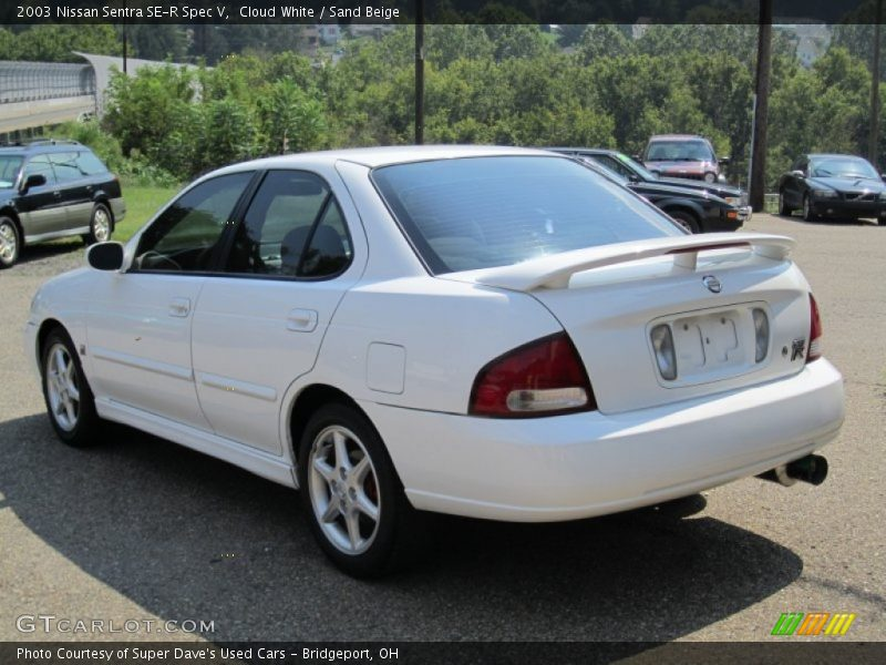 2003 nissan sentra se r spec v in cloud white photo no 55668591. Black Bedroom Furniture Sets. Home Design Ideas