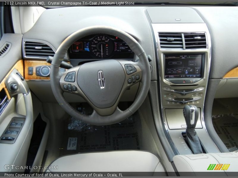 Dashboard of 2012 MKX FWD