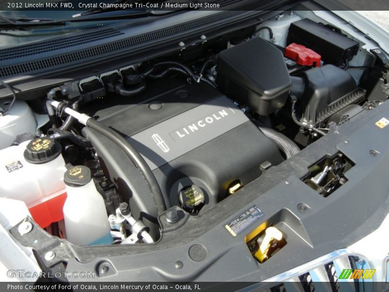 2012 MKX FWD Engine - 3.7 Liter DOHC 24-Valve Ti-VCT V6