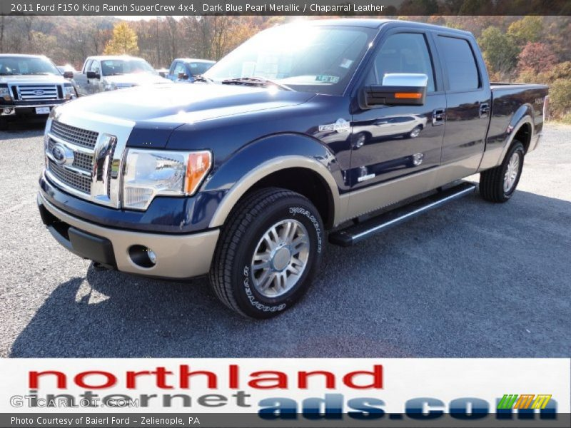 2011 ford f150 king ranch supercrew 4x4 in dark blue pearl metallic photo no 55731290. Black Bedroom Furniture Sets. Home Design Ideas
