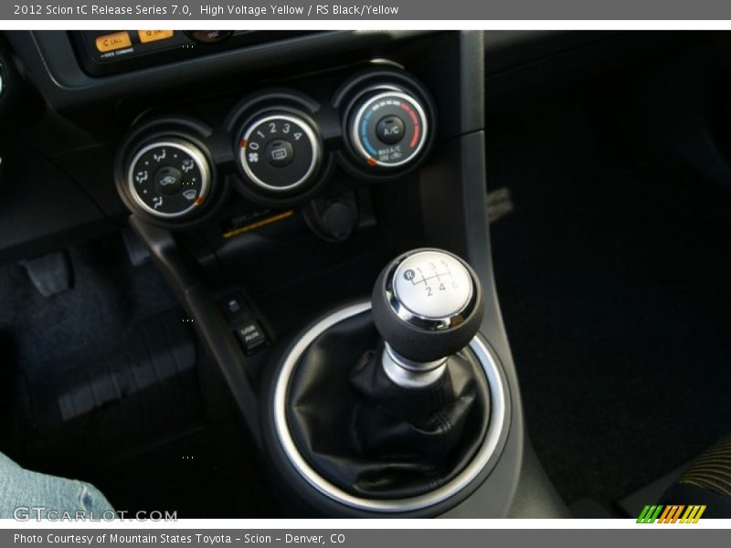 2012 tC Release Series 7.0 6 Speed Manual Shifter