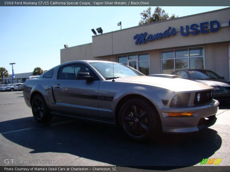 2009 ford mustang gt cs california special coupe in vapor silver metallic photo no 56036015. Black Bedroom Furniture Sets. Home Design Ideas