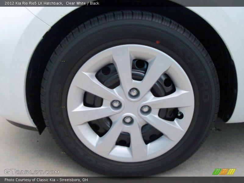 2012 Rio Rio5 LX Hatchback Wheel