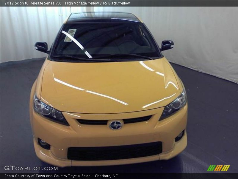High Voltage Yellow / RS Black/Yellow 2012 Scion tC Release Series 7.0