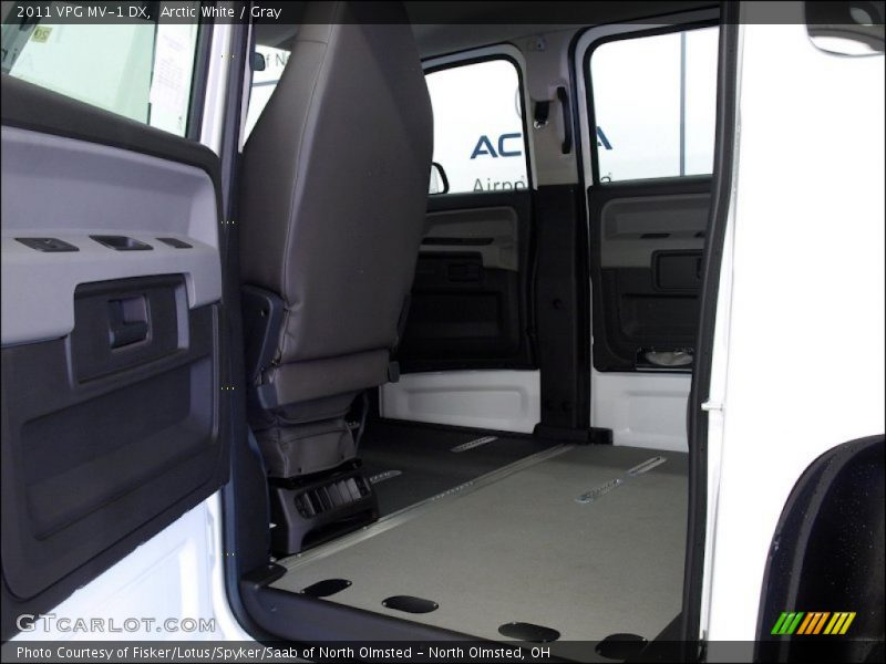 2011 MV-1 DX Gray Interior