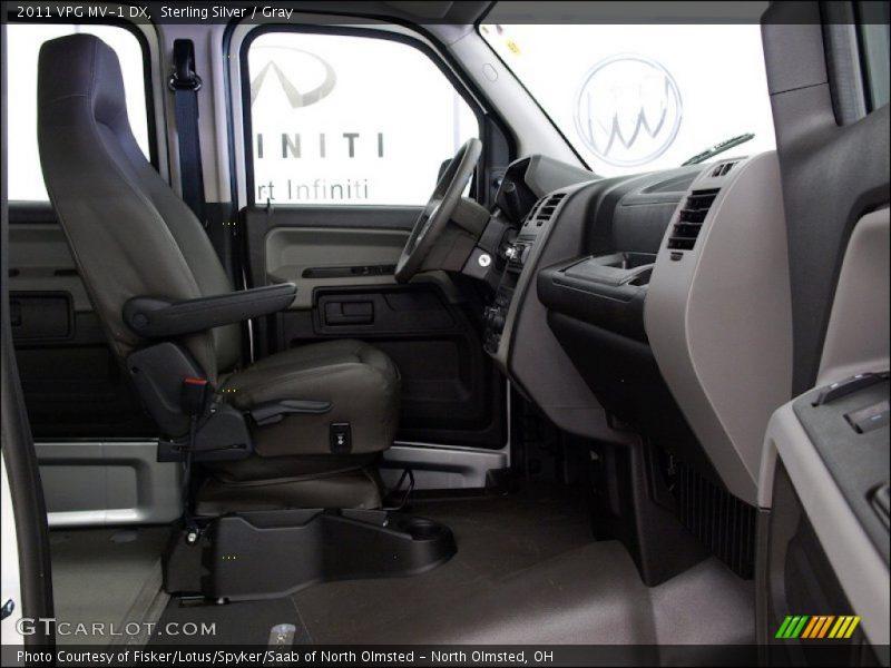 2011 MV-1 DX Gray Interior