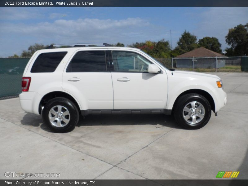2012 ford escape limited in white suede photo no 56221883 gtcarlot. Cars Review. Best American Auto & Cars Review