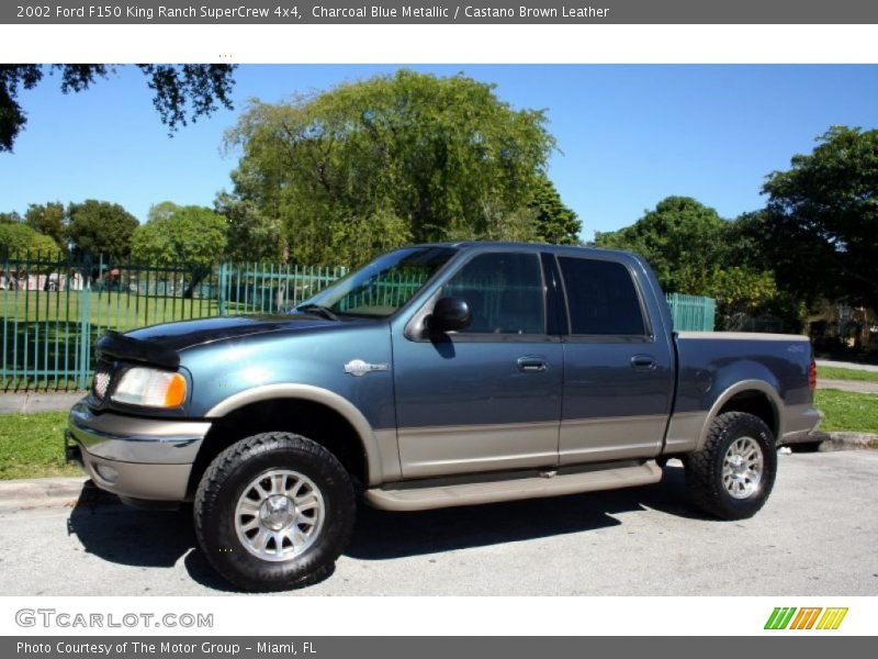 2002 ford f150 king ranch supercrew 4x4 in charcoal blue metallic photo no 56228624. Black Bedroom Furniture Sets. Home Design Ideas