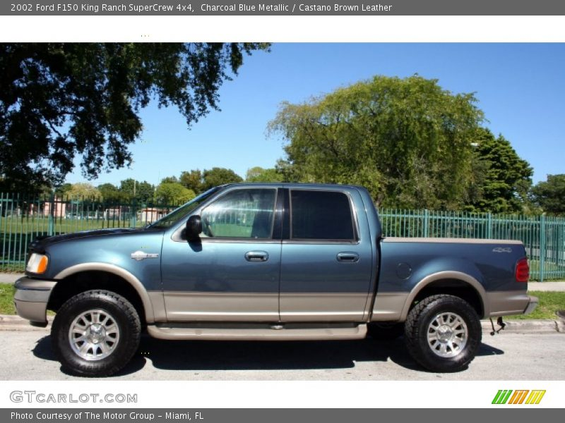 2002 ford f150 king ranch supercrew 4x4 in charcoal blue metallic photo no 56228627. Black Bedroom Furniture Sets. Home Design Ideas