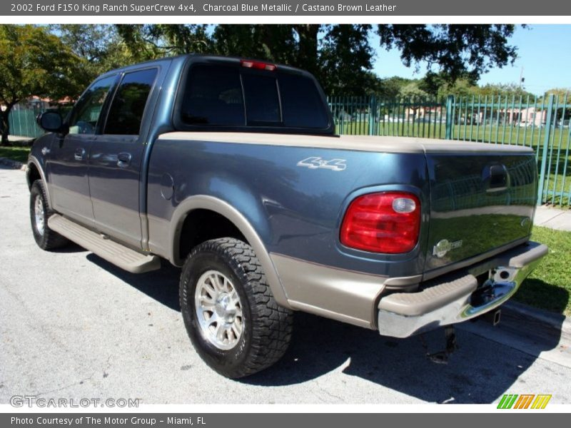 2002 ford f150 king ranch supercrew 4x4 in charcoal blue metallic photo no 56228639. Black Bedroom Furniture Sets. Home Design Ideas