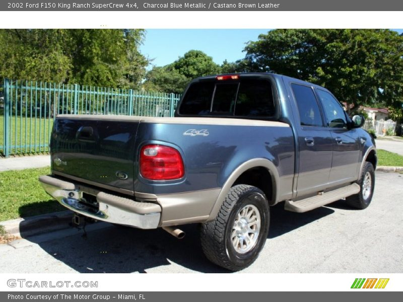 2002 ford f150 king ranch supercrew 4x4 in charcoal blue metallic photo no 56228642. Black Bedroom Furniture Sets. Home Design Ideas