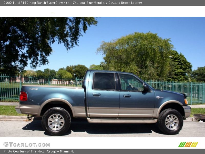 2002 ford f150 king ranch supercrew 4x4 in charcoal blue metallic photo no 56228648. Black Bedroom Furniture Sets. Home Design Ideas