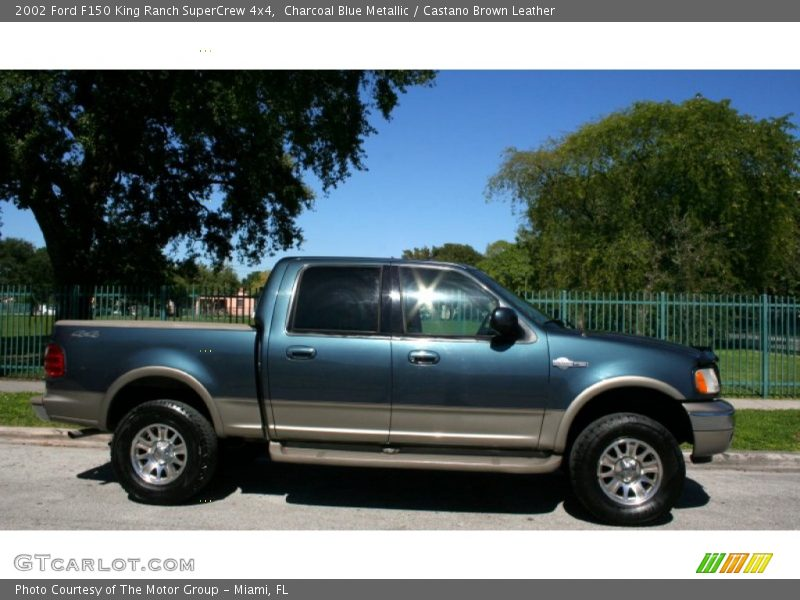 2002 ford f150 king ranch supercrew 4x4 in charcoal blue metallic photo no 56228651. Black Bedroom Furniture Sets. Home Design Ideas