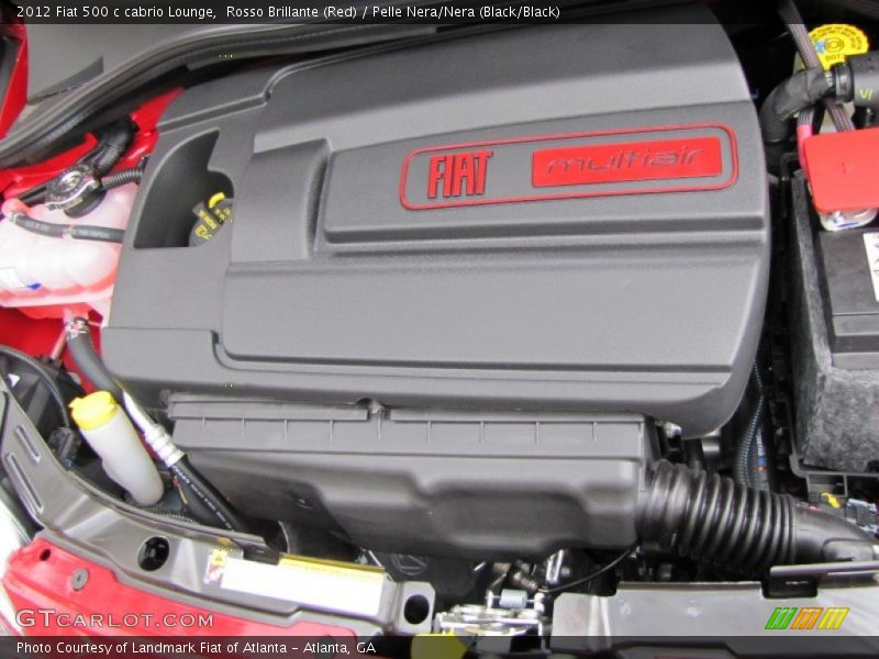 2012 500 c cabrio Lounge Engine - 1.4 Liter SOHC 16-Valve MultiAir 4 Cylinder