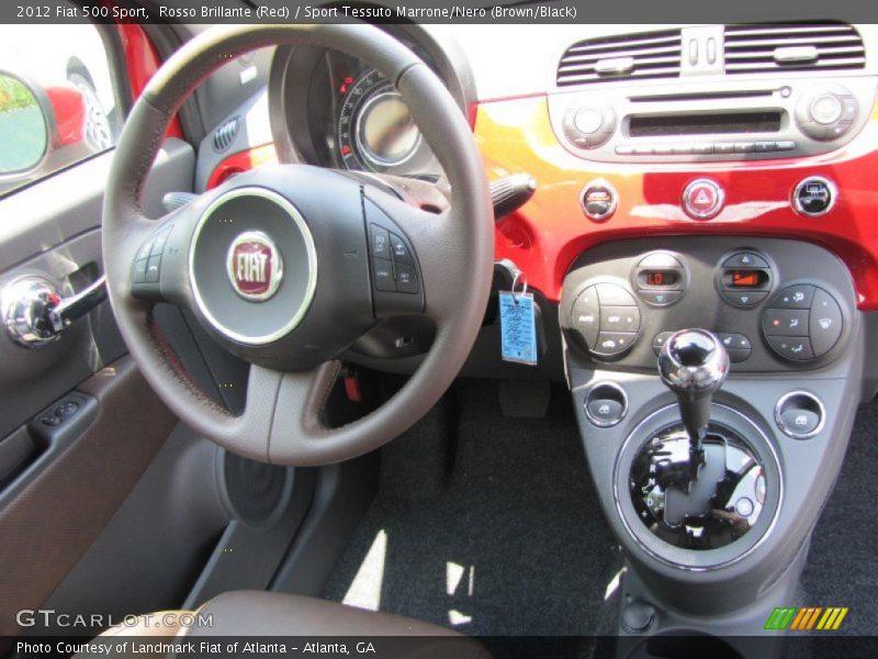 Dashboard of 2012 500 Sport