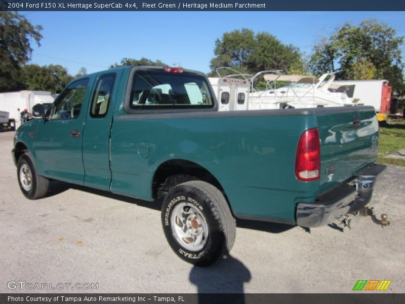 2004 F150 XL Heritage SuperCab 4x4 Fleet Green