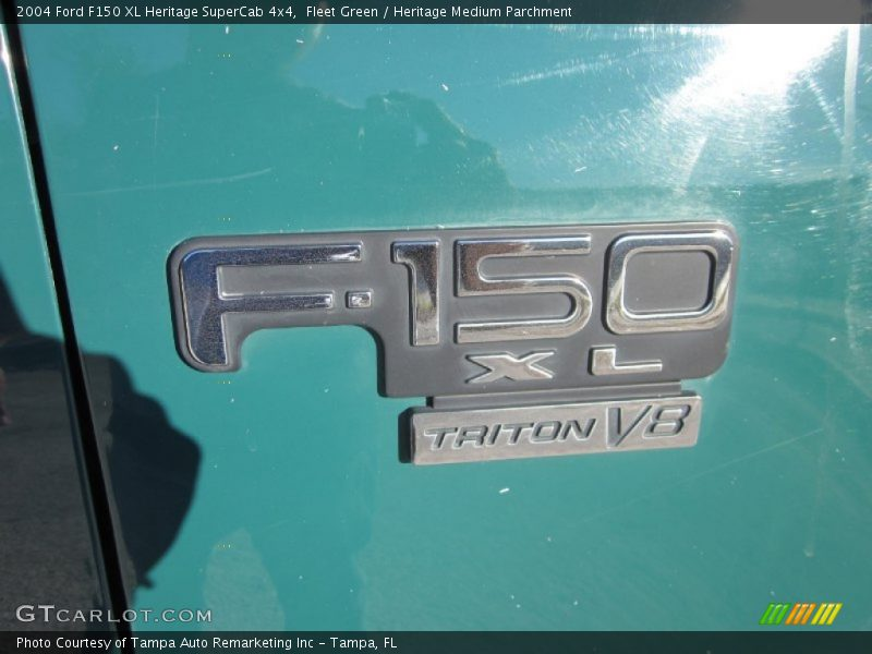 2004 F150 XL Heritage SuperCab 4x4 Logo