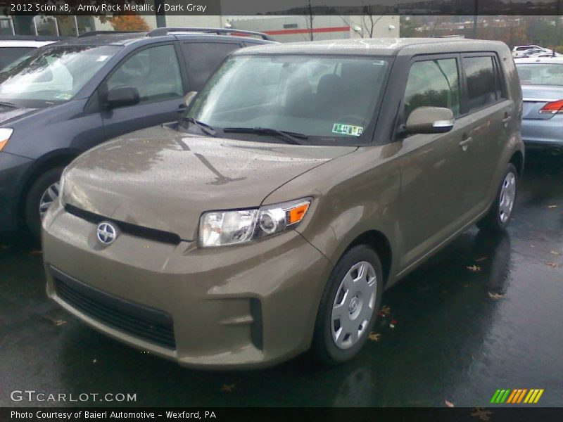 Army Rock Metallic / Dark Gray 2012 Scion xB