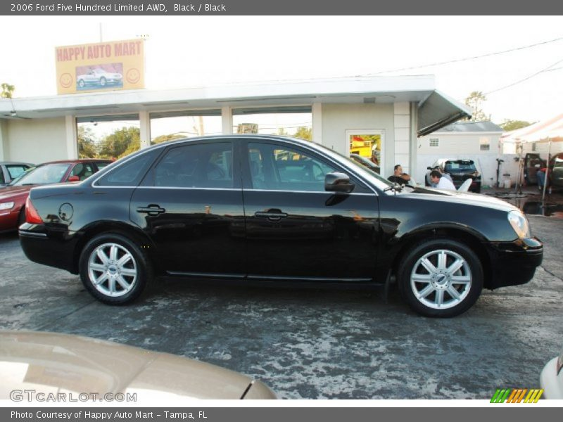 2006 Ford Five Hundred Limited Awd In Black Photo No