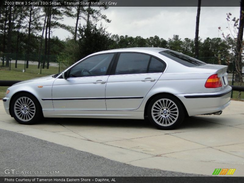 2003 Bmw 3 Series 330i Sedan In Titanium Silver Metallic