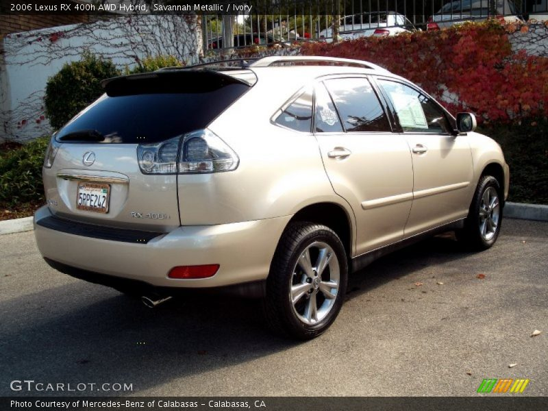2006 lexus rx 400h awd hybrid in savannah metallic photo. Black Bedroom Furniture Sets. Home Design Ideas