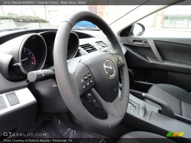 2012 MAZDA3 i Touring 4 Door Steering Wheel