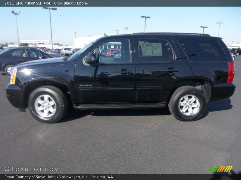 2011 Yukon SLE 4x4 Onyx Black