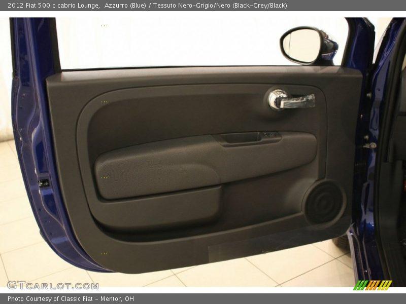 Door Panel of 2012 500 c cabrio Lounge
