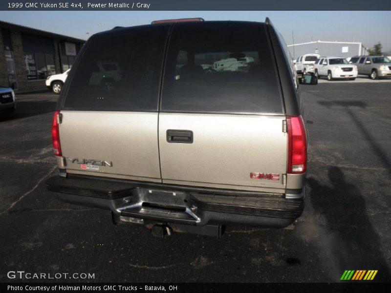 Pewter Metallic / Gray 1999 GMC Yukon SLE 4x4