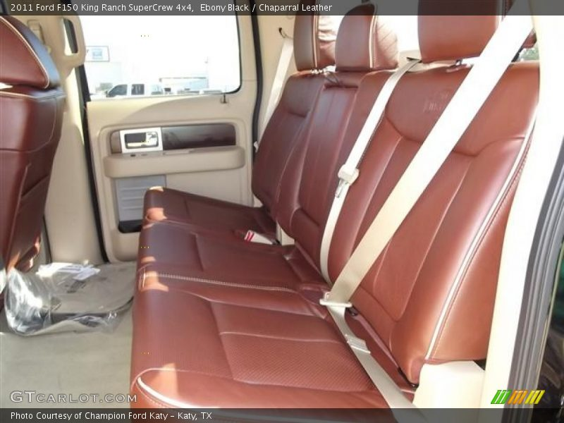 Ebony Black / Chaparral Leather 2011 Ford F150 King Ranch SuperCrew 4x4