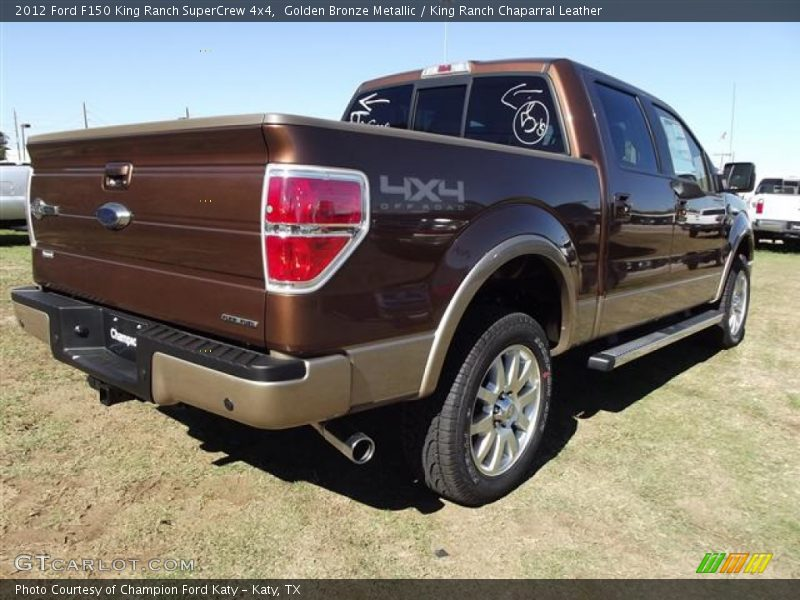 2012 ford f150 king ranch supercrew 4x4 in golden bronze metallic photo no 57412775. Black Bedroom Furniture Sets. Home Design Ideas