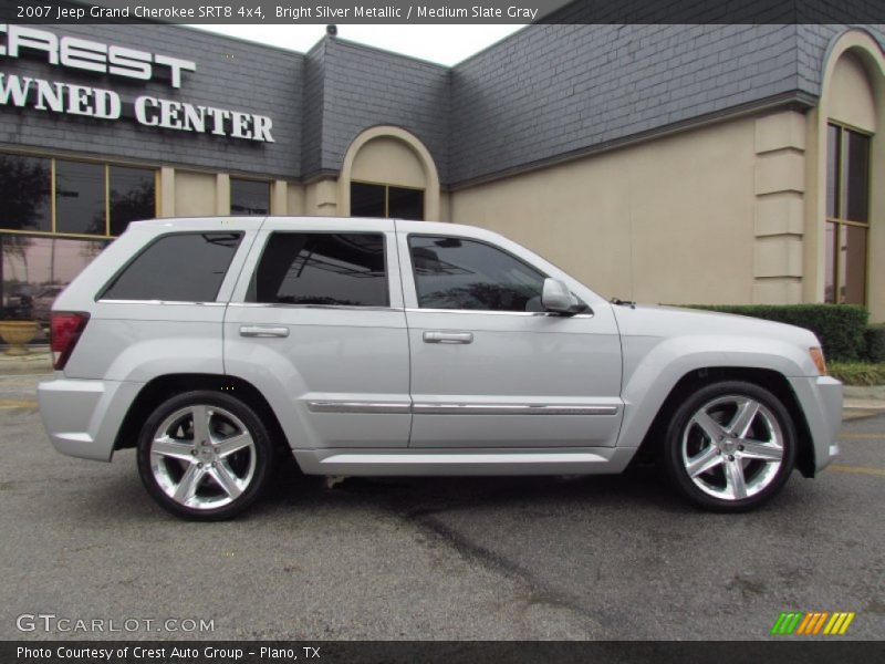 silver metallic medium slate gray 2007 jeep grand cherokee srt8 4x4. Cars Review. Best American Auto & Cars Review