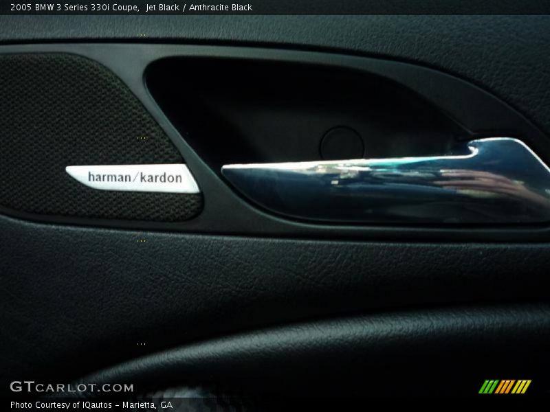 Jet Black / Anthracite Black 2005 BMW 3 Series 330i Coupe