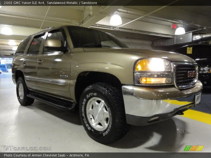 2003 Yukon SLE 4x4 Sandalwood Metallic