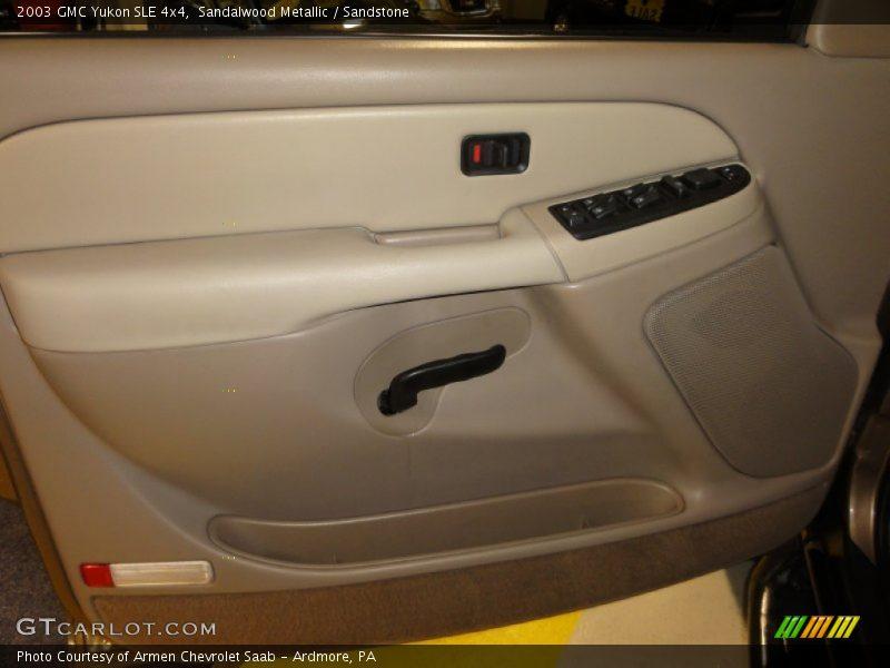 Sandalwood Metallic / Sandstone 2003 GMC Yukon SLE 4x4