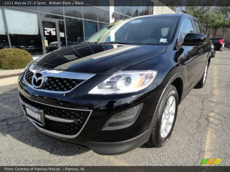 2011 mazda cx 9 sport in brilliant black photo no. Black Bedroom Furniture Sets. Home Design Ideas